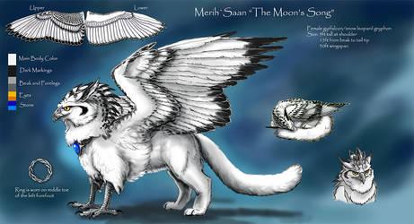 MerihSaan Gryphon Ref 2018 by silvermoonnw