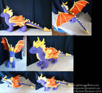 Stylized Spyro the Dragon