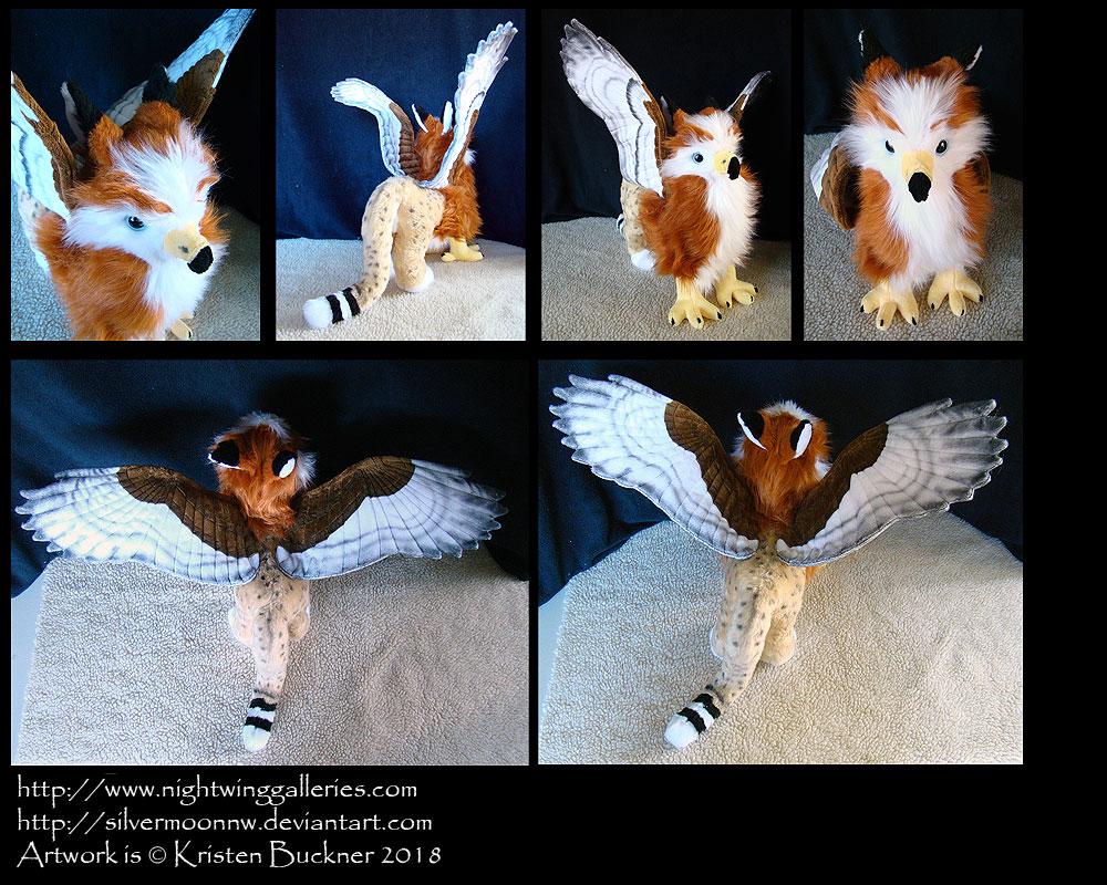 Fynath Custom Character Plush by silvermoonnw