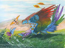 Yao's Butterflies by silvermoonnw