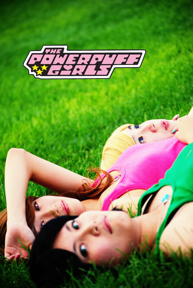 Powerpuff Girls Live Action Movie Poster by Talfryn