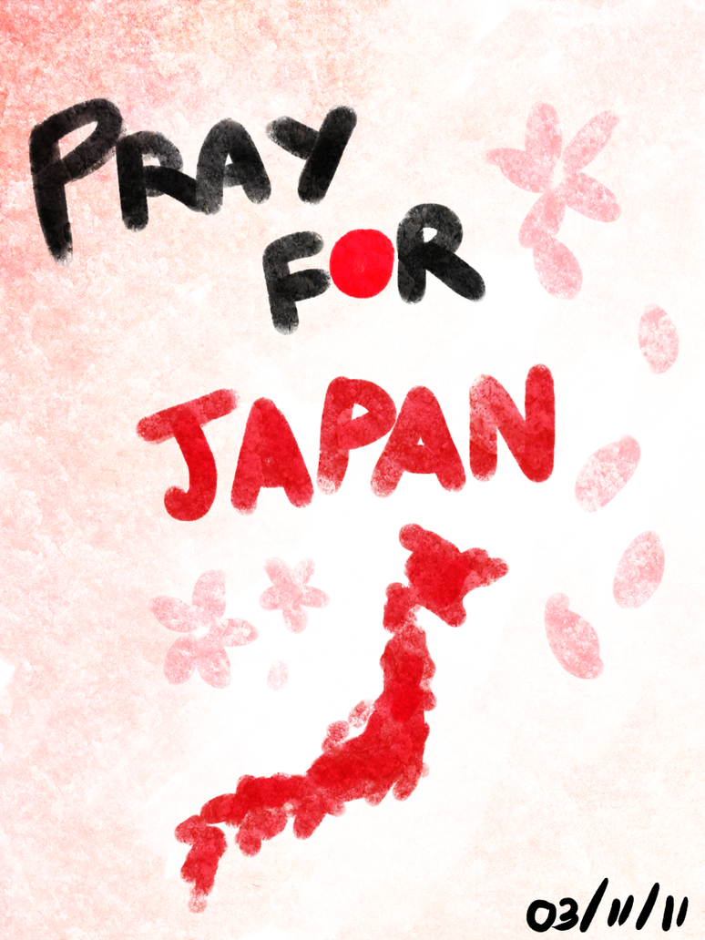 PRAY 4 JAPAN by haruka-sakurai