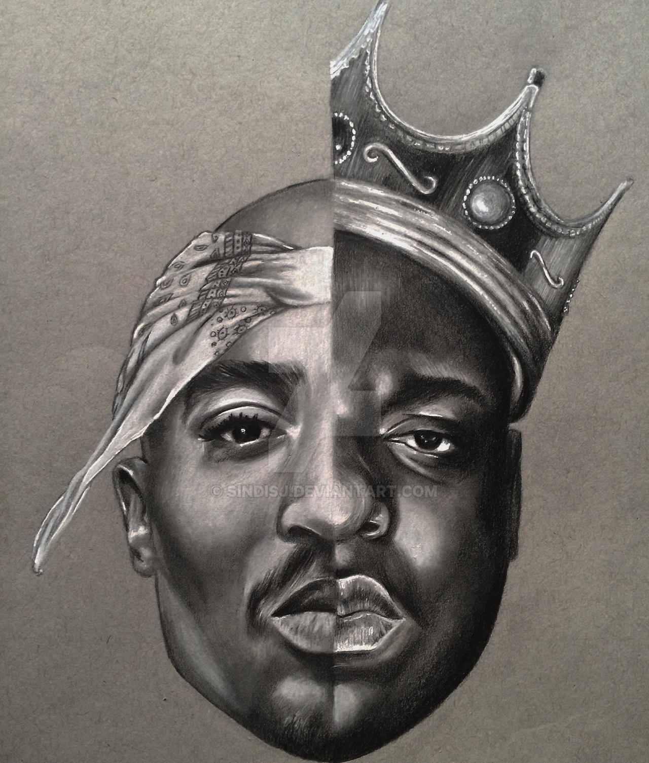 Tupac / Biggie by sindisj on DeviantArt