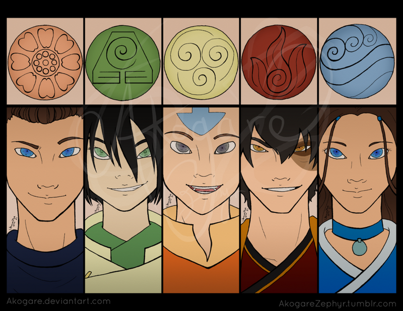 Five Elements Art : The five elements by akogare on deviantart