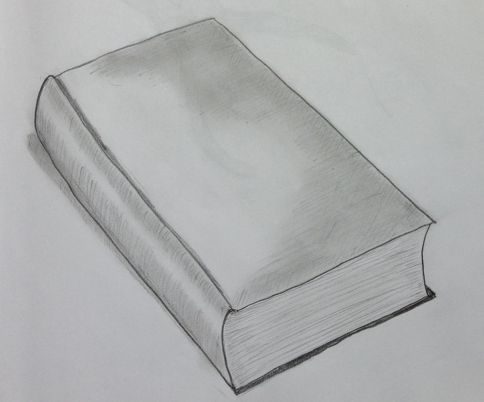 still life drawing of books Book Covers