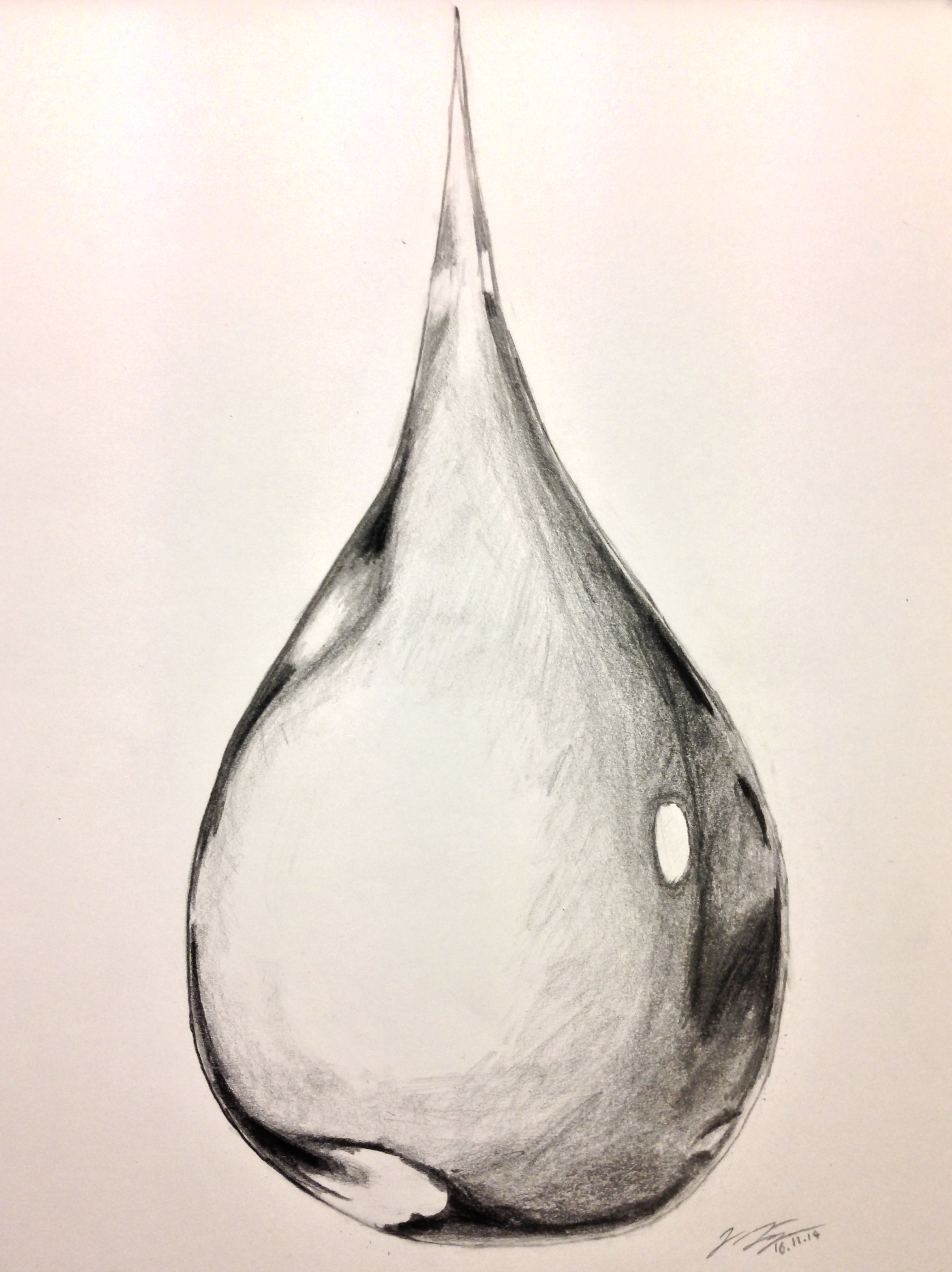 Water-drop Drawing by Jonas-Jaeger on DeviantArt