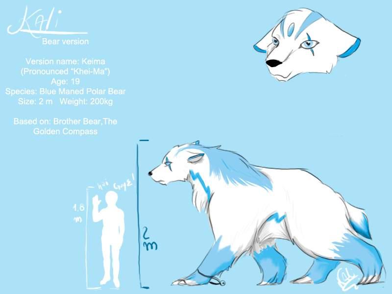 Bear Kali Character sheet by Panther-Of-Kali-666