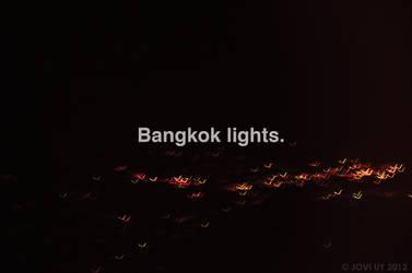 BANGKOK LIGHTS. by JOVIAGRA
