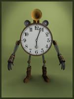 Alarmclock-Robot by c4dazubi08