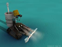 Beaker-Bot by c4dazubi08