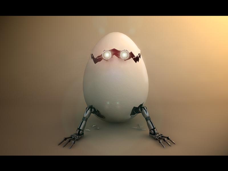 Eggbot by c4dazubi08