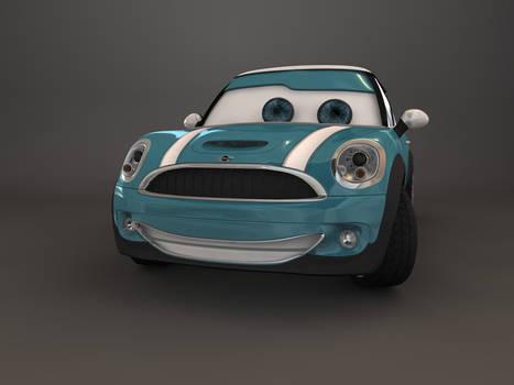 Disney Cars Mini Cooper No.2