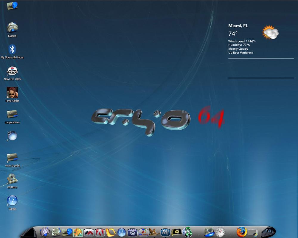 Cryo64  -  Blue by DARIMAN