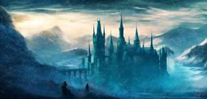 Concept: Icy valley Castle by Ardoric95