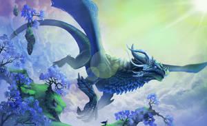 Peak of the Dragon Sanctuary by Ardoric-Art