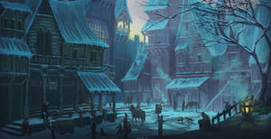 Snowy Street Concept