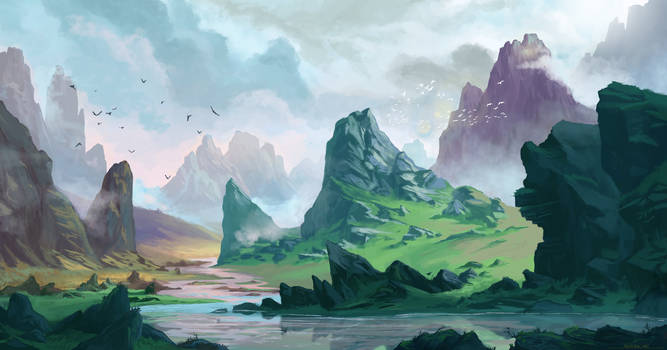 River's course Concept by Ardoric95