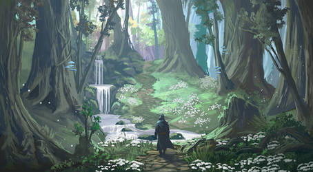 Crossing the Stream Concept by Ardoric-Art