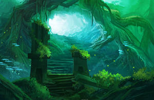 Root Pass by Ardoric-Art