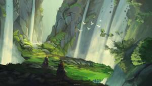 The Canyon Waterfalls