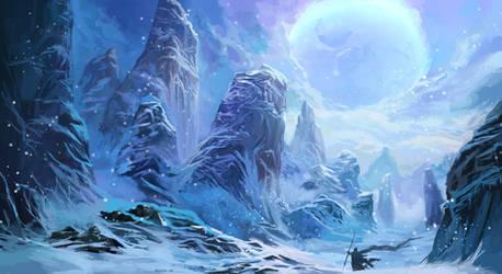 Peaks of Arctic Moon Valley