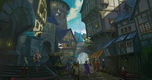 Medieval Trade Alleys