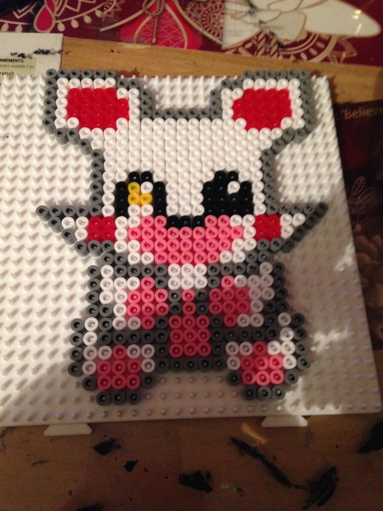 Cute Mangle - Pixel Art by LizaFadaway