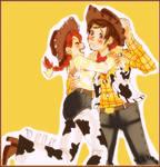 Let's dance cowboy