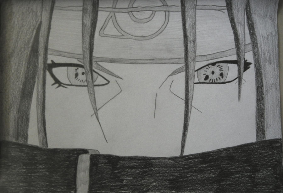 Itachi Drawing by