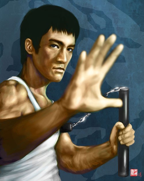 Bruce lee by LUN2004