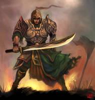 Death War Warrior by LUN2004