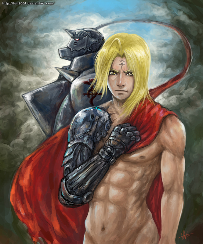 Full metal alchemist brother by LUN2004