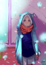 Hijab Girl by KiiYuukhy