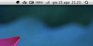Menubar Icons - OSX Mountain Lion 10.8.2
