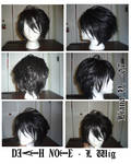 +Cosplay+ Death Note: L wig