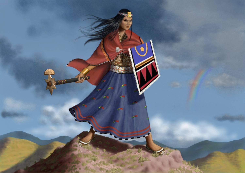 Image Gallery inca warriors