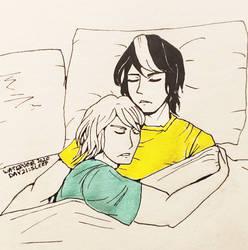 Inktober Day 21: Sleep [PKMN-NH]
