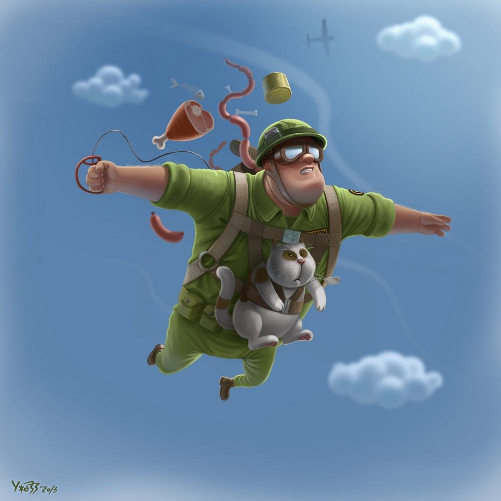 Geronimooooo!!! by UzhaZZ