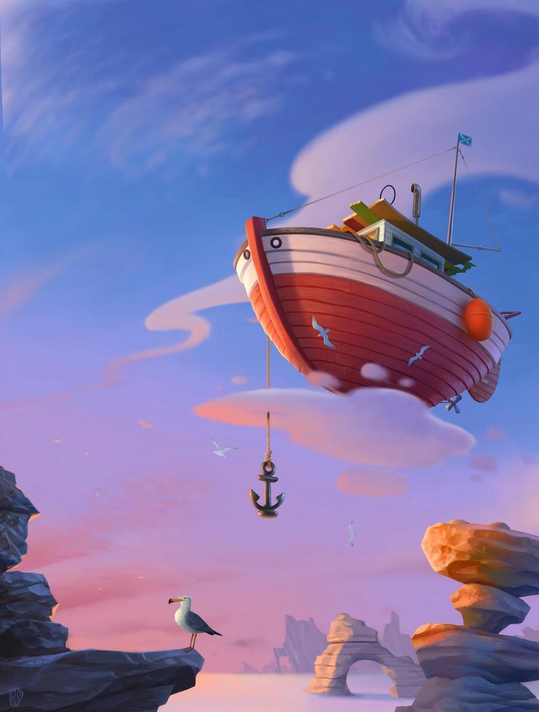 Boat by UzhaZZ
