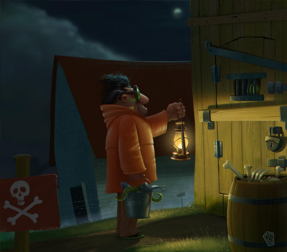 Lantern by UzhaZZ
