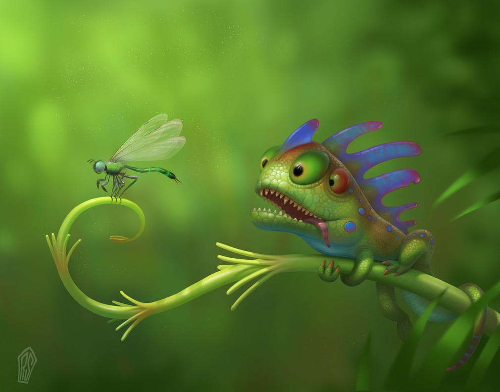 Lizard by UzhaZZ