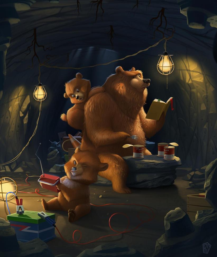 Bears by UzhaZZ