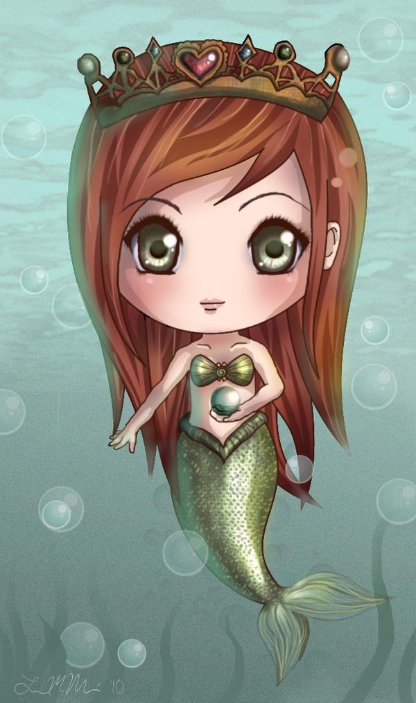 Chibi Mermaid By Jugsyjinx On DeviantArt
