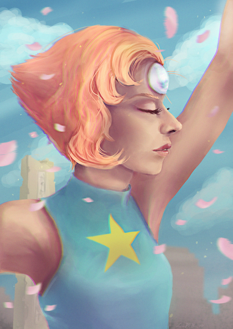 Wow! It's been a while since I've done some steven universe stuff! I think pearl is my fav so far though.  Next will be Garnet   I might even redo Steven because his face feels very ...