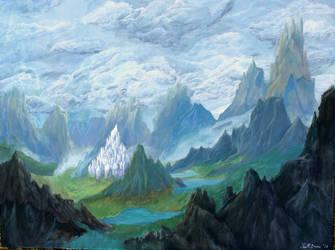 Castle Beyond The Mist by DovahLi
