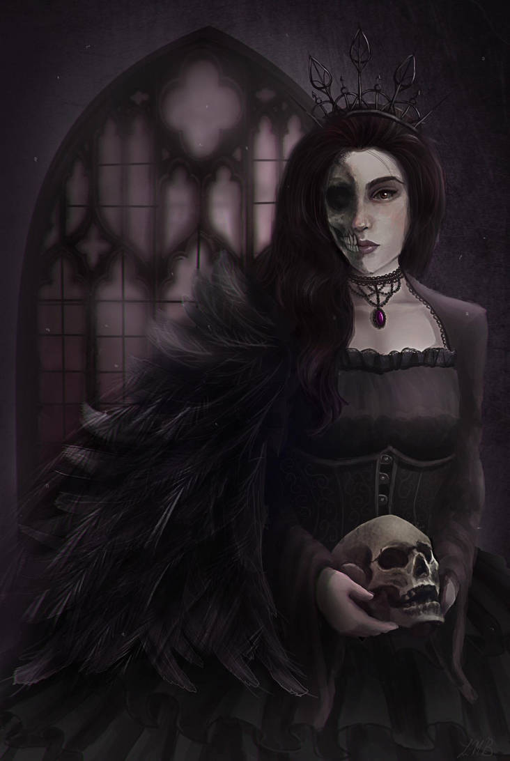 The Raven Queen by DovahLi