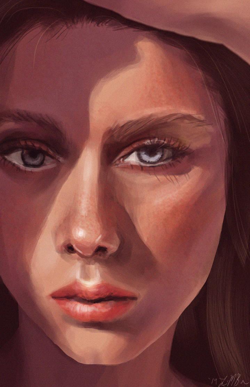 Digital Portrait Practice by DovahLi