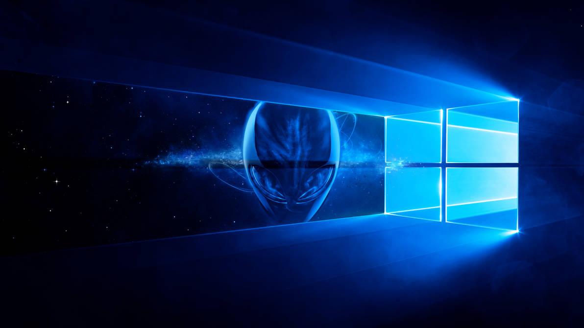 1. Alienware Windows 10 Wallpaper by Ecstrap on DeviantArt