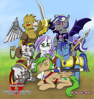 Six Main Heroines by Sword-of-Akasha