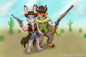 Judy and Nick Frontier Justice